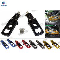 waase CBR600RR Motorcycle Chain Adjusters Tensioners Catena For Honda CBR 600 RR Fireblade F5 PC40 2007 2008 2009 2010 2011 2012