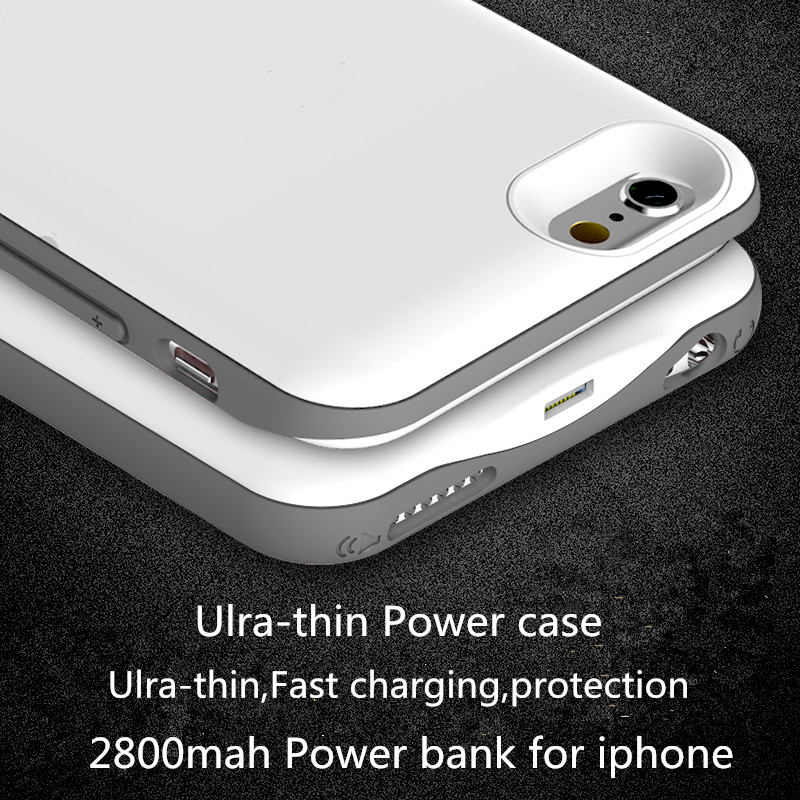Portable Ultra-Thin Charger power Case Fs