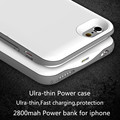 Portable Ultra-Thin Charger power Case For iphone 6 4.7inch Backup Power bank Pack cover for apple iphone 6s Batterie externe