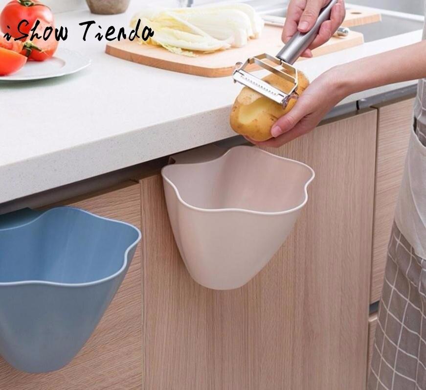 New Kitchen Cabinet Door Hanging Trash Garbage Bin Can Rubbish Container TOP Armoires De Cuisine #P