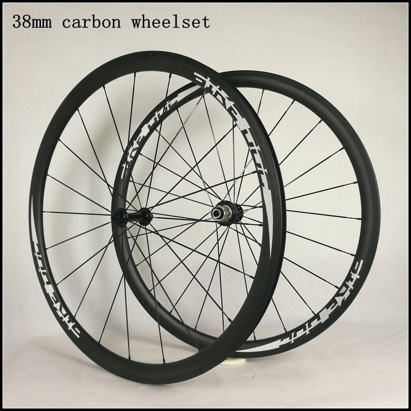 Цена за BIKEDOC колеса углерода трубчатых и решающий довод 700c колеса велосипеда легкий вес шоссейные велосипеды колеса 38 мм трубчатые и clincer