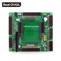 DVK600 FPGA CPLD mother board, provides several I/O interfaces, supports various accessory boards