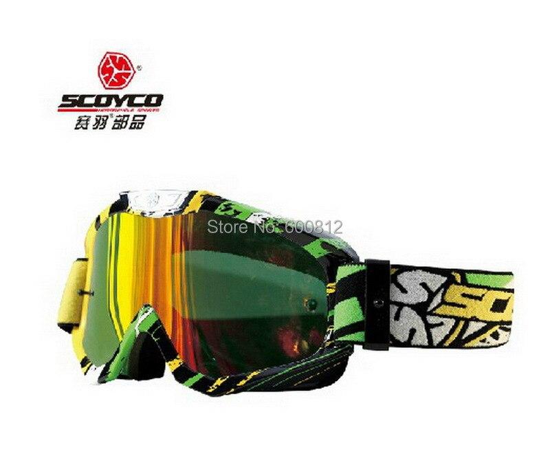 Vente en gros SCOYCO G06 motocross moto lunettes/cross-country/coupe-vent ski lunettes/chevalier hors route/moto