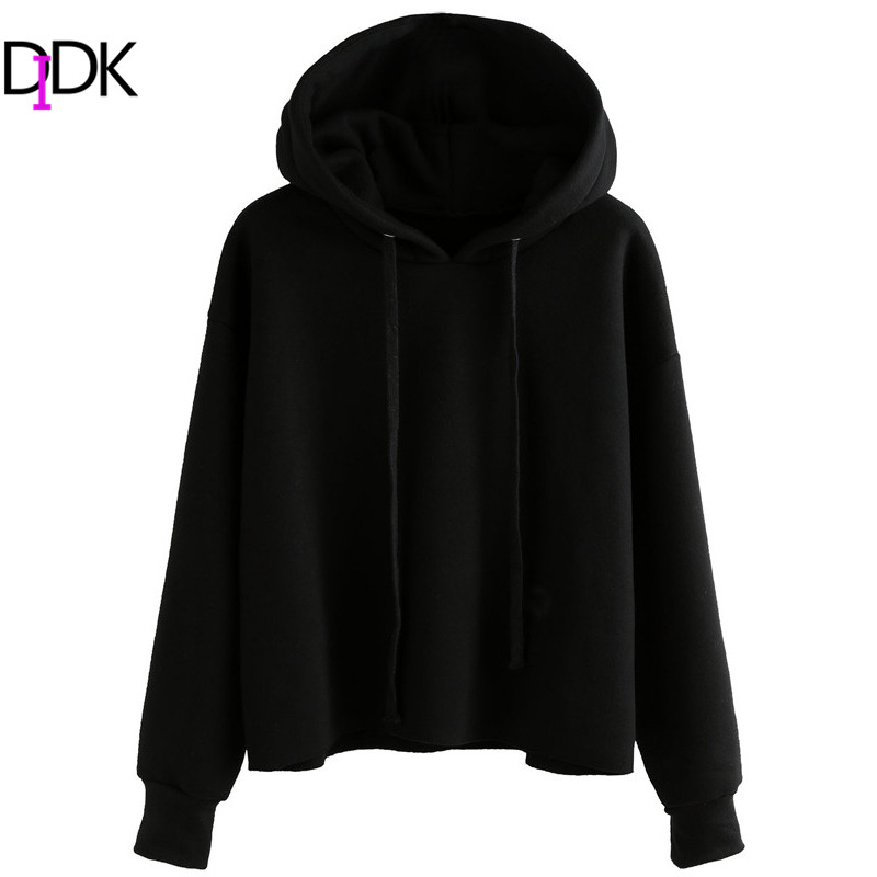 Popular Womens Plain Black Hoodie-Buy Cheap Womens Plain Black ...