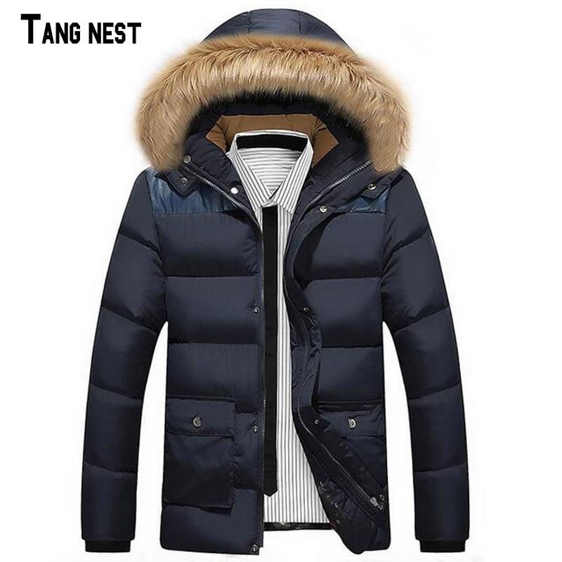 Men Coat 2017 New Arrival Men's Fashion Thick Winter Warm Coat Men Casual Parka Korean Style Thick Coat L-4XL MWM1066