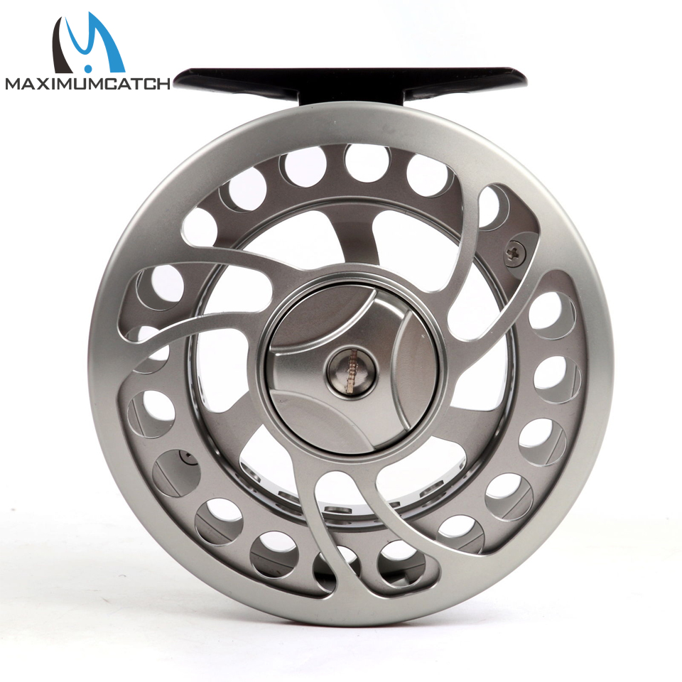 Maximumcatch 2/3/4/7/9/10WT Fly Fishing Reel CNC Machina Cut Large Arbor Aluminum Fly Reel maximumcatch hvc 7 8 weight exclusive super light fly reel chinese cnc fly fishing reel large arbor aluminum fly reel