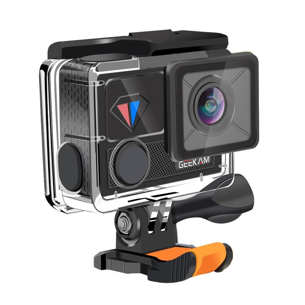Caméra de sport T1 caméra 4 K sport sous-marin DV HD sans fil WIFI caméra numérique 2 pouces écran tactile sûr étanche