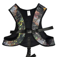 2016 Spring New Layatone Camouflage Neoprene Womens Mens Spearfishing Rubber Vest 3mm J1602MC