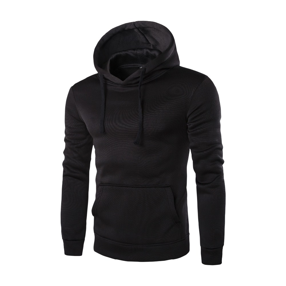 Men's casual autumn hooded 3