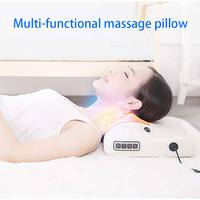Multifunctional Massage Pillow Cervical Massager Infrared Heating Relax Neck Muscles Back Shoulder Electric Body Massager CCP043