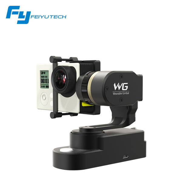 Feiyu WG Wearable Gimbal 3-axis Brushless Gimbal for GoPro 3/4 AEE Xiaoyi sports Camera