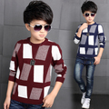 Big Boys Sweaters 2017 Autumn Winter Knitted Sweater For Boys Tops Children Clothing 6 to 15 Years Teenage Boys Clothes
