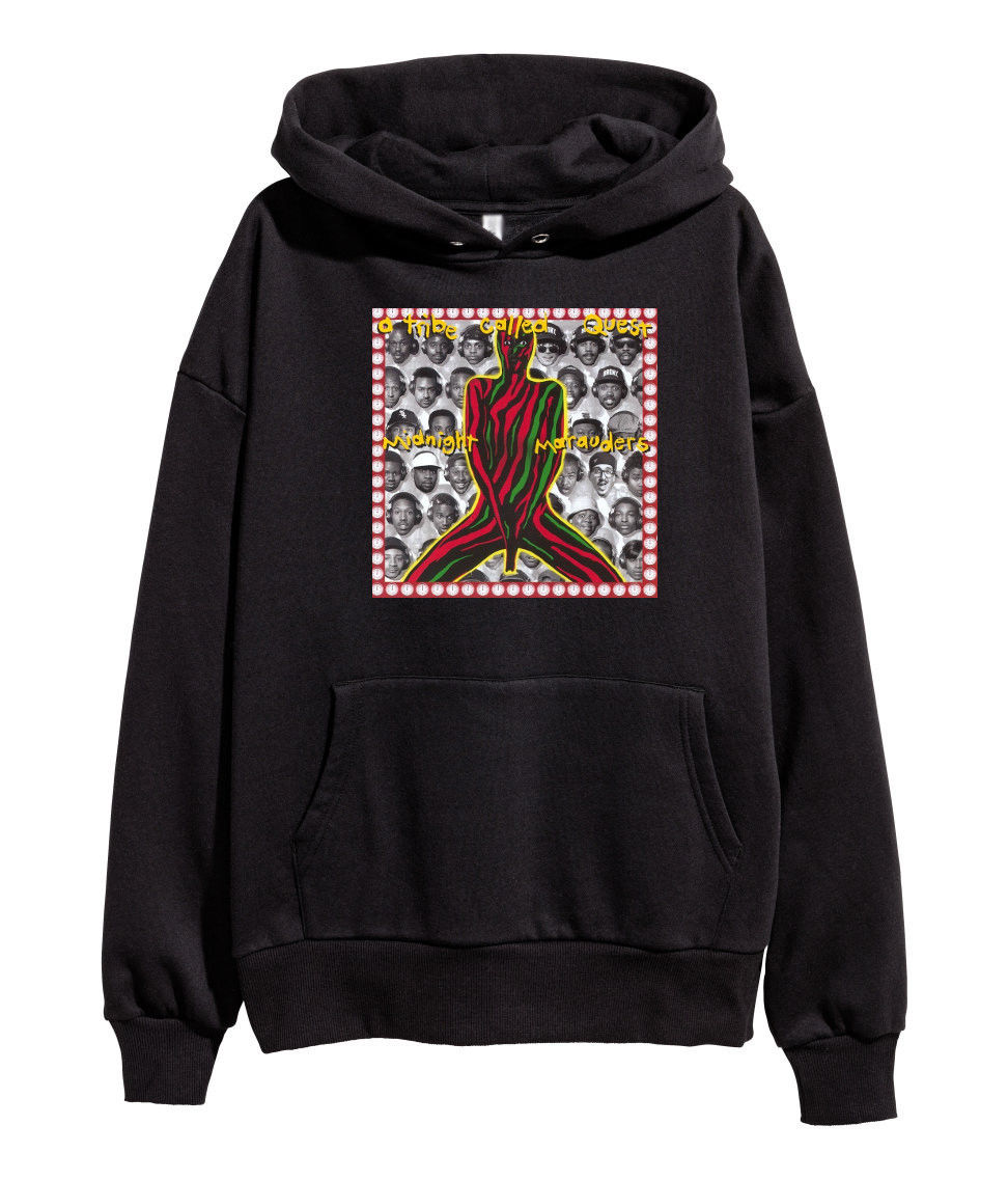 A Tribe Called Quest Midnight Marauders Hoodie Hip Hop Rap merch New Black