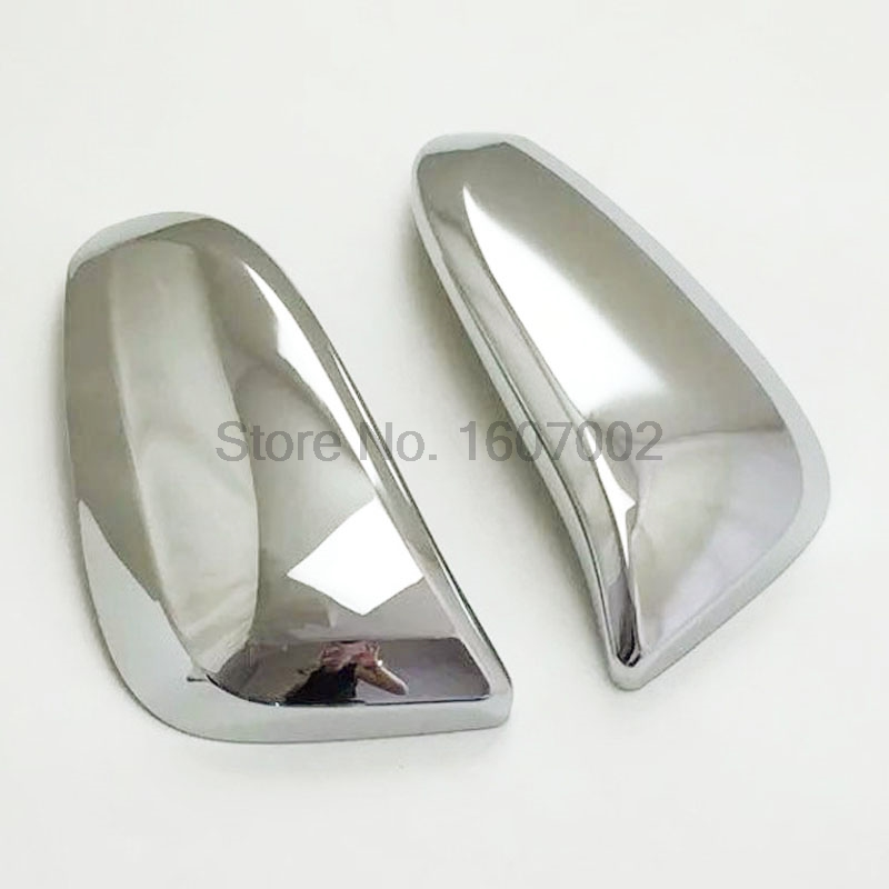 For Toyota RAV4 2016 ABS Chrome Side Door Rearview Mirror Cover Trim Molding Protectors Car Exterior Accessories