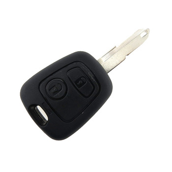 2 Buttons ASK NE73 Blade Remote Car Key Shell Fob Controller For PEUGEOT 206 USE for 433MHZ PCF7961 Transponder Chip image