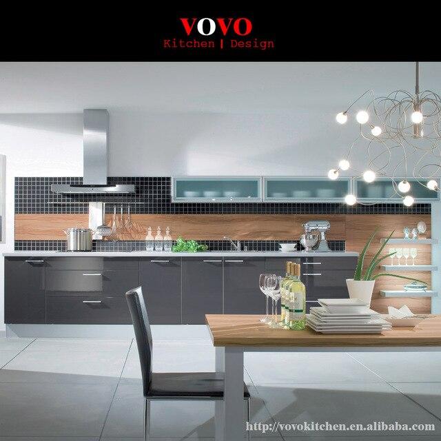 Piccola cucina disegno colore grigio in Piccola cucina disegno ...