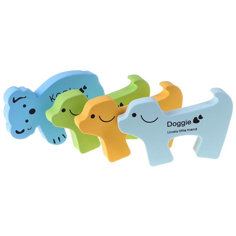 Mutter & Kinder 1 Pc/5 Pcs Eva Baby Sicherheit Tür Stopper Katze Hund Koala Form Halter Kinder Kinder Sicherheit Tür Stopper Kid Spielzeug Tür Stoper
