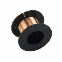 2017 NEW 0.1MM Copper Soldering Solder PPA Enamelled Repair Reel Wire APR17_17