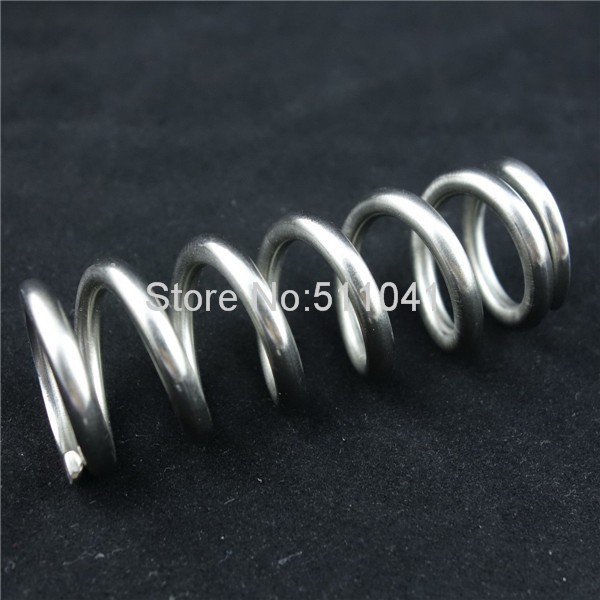 Titanium Spring for Bike Rear Shock,Grade 5 Titanium Spring 550lbx3.0x165mm with 36 mm inner diameter, Paypal is available