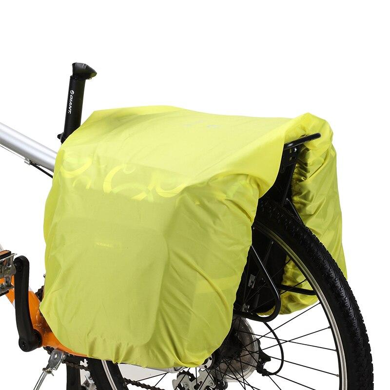 lgfm roswheel bicycle motorcycle rear seat rainproof cargo cover  bike rack bag protection