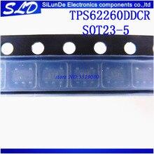 Frete Grátis 20 pçs/lote TPS62260DDCR TPS62260DDC TPS62260 BYP SOT23 5 novo e original em estoque