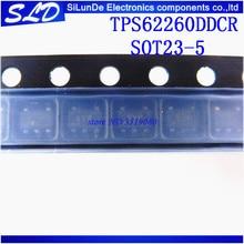 Gratis Verzending 20 stks/partij TPS62260DDCR TPS62260DDC TPS62260 BYP SOT23 5 nieuwe en originele in voorraad