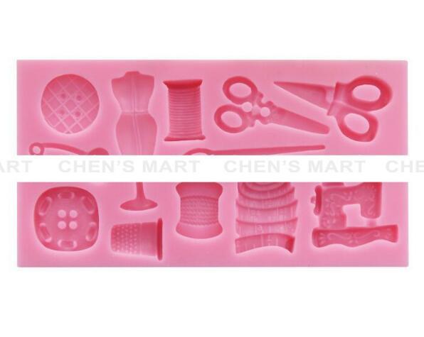 Kuchen Werkzeug 1 Stück Scissor Taste Nähen Designer Kleidung Silikonform  Hochzeit Kuchen Grenze Fondant Kuchen Dekorieren Ton Formen In Kuchen Werkzeug  1 ...