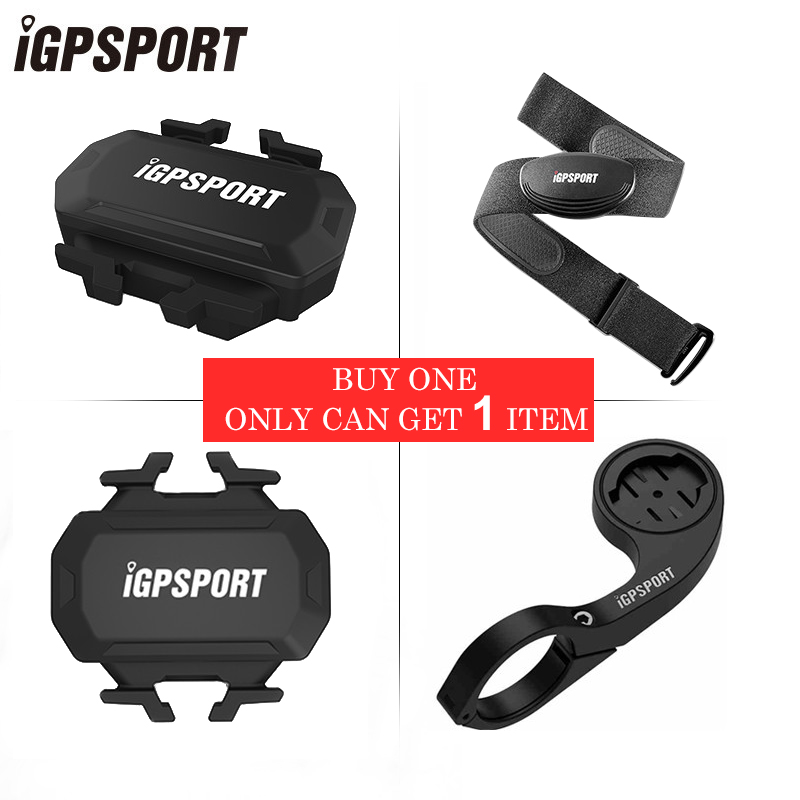 IGPSPORT ANT+ Bike Speed Cadence Combo Sensor Cadence Sensor Heart Rate Monitoring Band Mount For Bicycle Computer Speedometer sunding bluetooth 4 0 waterproof wireless combo cadence sensor