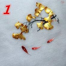 Китайские шелковые нити ручная вышивка работает двухсторонние узоры Круглые 20 см используется для сумки одежды ручной вентилятор декор украшения и т. д
