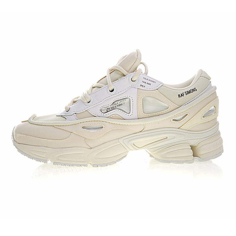 Adidas X Raf Simons Ozweego 2 Women's Running Shoes, White Shock Absorption Non slip Waterproof Breathable S81161 EUR Size W