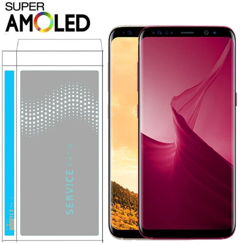 HTB1MLQBbBiE3KVjSZFMq6zQhVXaY Original LCD For Samsung Galaxy S8 S8 plus G950 G950F G955fd G955F G955 Burn-in Shadow Lcd Display With Touch Screen Digitize