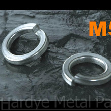 1000 шт./лот DIN127 M5 нержавеющая сталь пружинная шайба