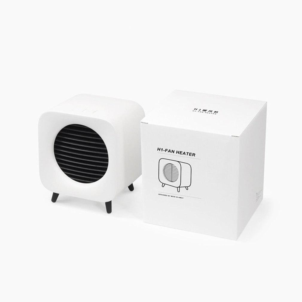 Mini chauffe-Air électrique Portable Style rétro ventilateur chaud puissant chauffage rapide ventilateur poêle radiateur salle plus chaude pour bureau à domicile