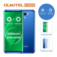 Oukitel K5000 18 9 Display 5 7 HD Android7 0 Cellphone MTK6750T 4G 64G Octa Core