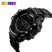 SKMEI Men Smart Watch Fashion Outdoor Sport Digital Watches Pedometer Calorie Bluetooth Fitness Tracker Remote Camera
