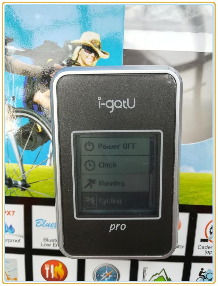 IPX7 Waterproof I gotu GT 820Pro GPS Bike Travel computer GPS data logger photo locator Barometric