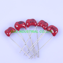 10pcs MICA Capacitor Silver 220pF 500V Radial For Guitar Amplifier RADIO