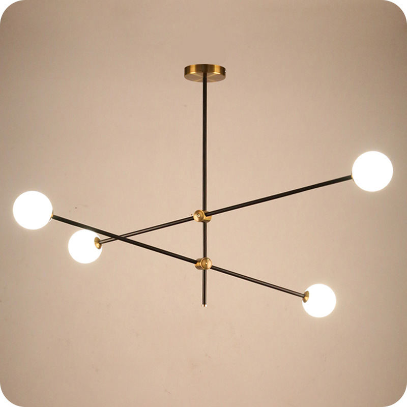 Nordic Simple Glass Ball Pendant Light Creative Hanging Pipe Droplight Modern Ceiling Hanging Lamp For Bedroom Living Room BarNordic Simple Glass Ball Pendant Light Creative Hanging Pipe Droplight Modern Ceiling Hanging Lamp For Bedroom Living Room Bar
