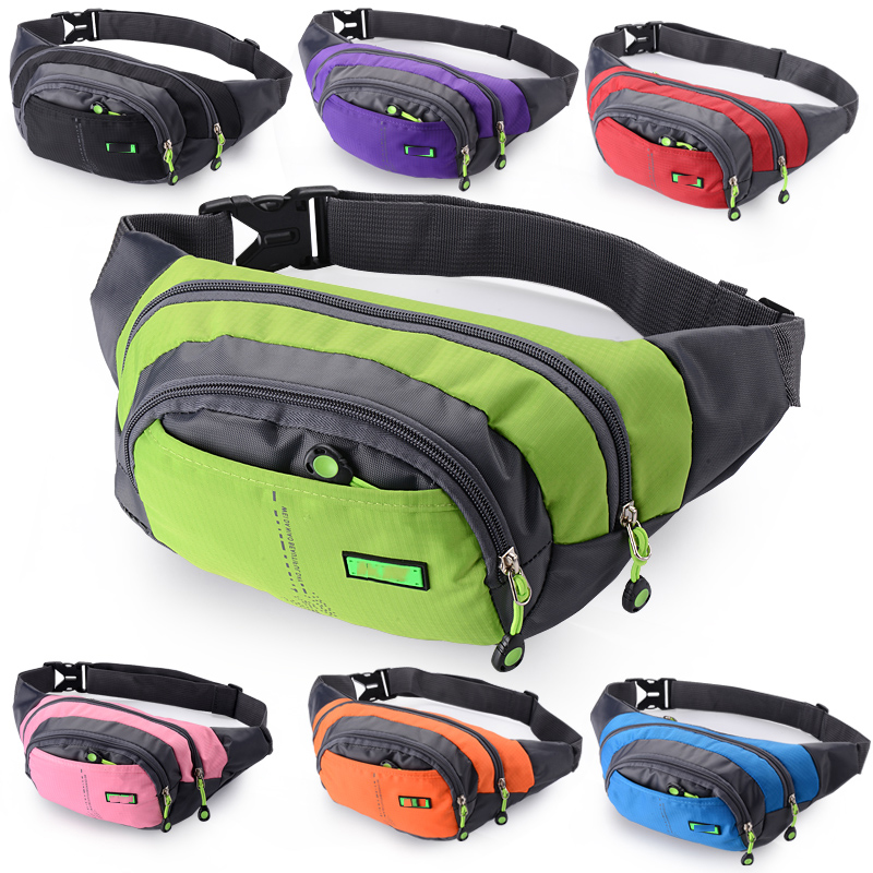 Nylon Outdoor multi-functional Tool Bags for Women Men Waist bag Case Travel Sport Tool  ...