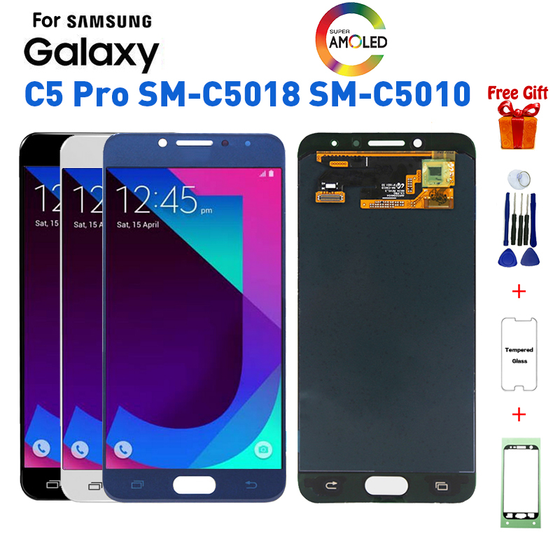 <font><b>For</b></font> <font><b>Samsung</b></font> <font><b>C5</b></font> <font><b>Pro</b></font> SM-C5018 SM-C5010 <font><b>lcd</b></font> display <font><b>Screen</b></font> replacement <font><b>for</b></font> <font><b>Samsung</b></font> <font><b>Galaxy</b></font> <font><b>C5</b></font> <font><b>Pro</b></font> SM-C5018 C5010 display <font><b>lcd</b></font> <font><b>screen</b></font> image