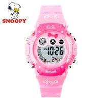 2017 Snoopy Kids Watch Children Watch Cool Cute Digital Wristwatches Girls Sports