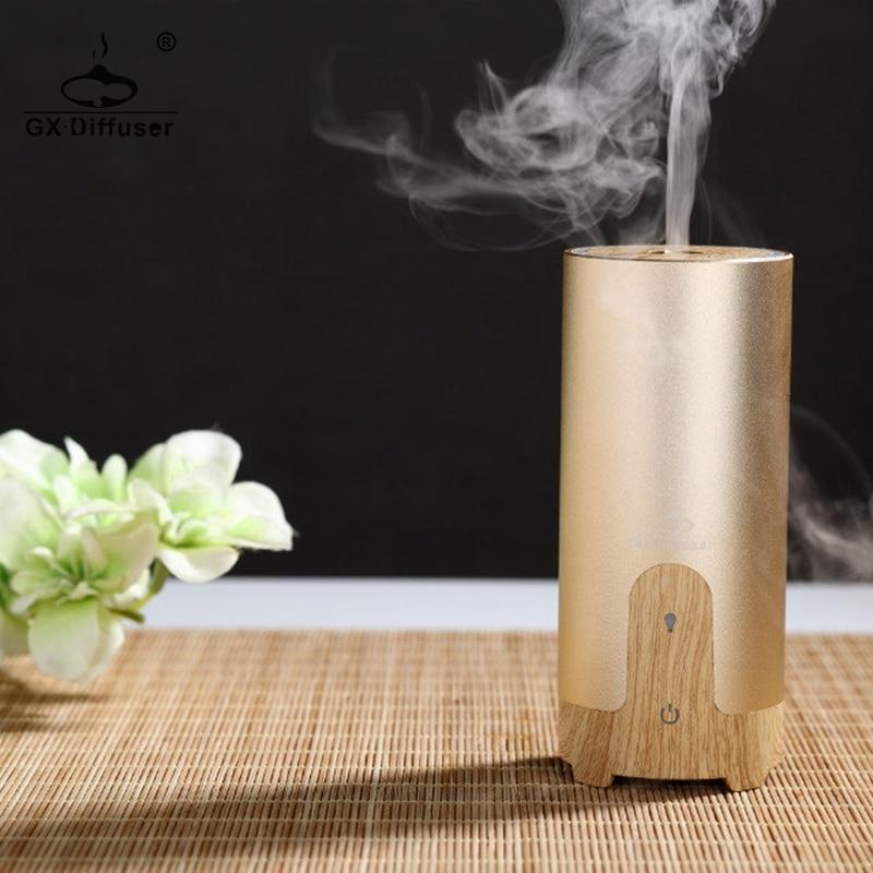 Fashion Car Air Humidifier Diffuser Essential Oil Ultrasonic Aroma Mist Purifier
