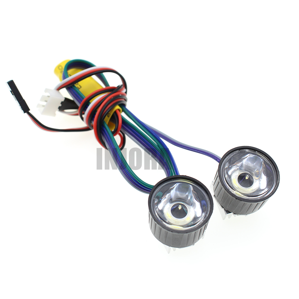 High Power Headlight System Super Bright LED Light / Lamp for RC Car Crawler Aircraft Boat