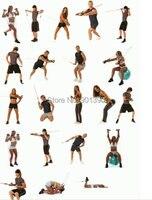 сопротивление группы специальное конструкторское 11 шт./компл. труб сопротивление трубы резинки упражнения йоги для тренировки пилатес