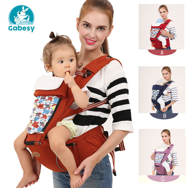 43f8f50c241f Gabesy porta bebé infantil mochila Sling niño envoltura niños hipseat  cuidado del bebé canguro recién nacido