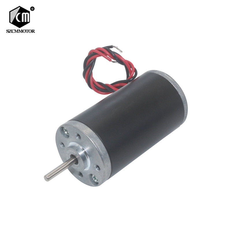 12V 24V 3500RPM 5000RPM 6000RPM 8000RPM Permanent Magnet DC Motor High Powerful Micro Carbon Brush Motor