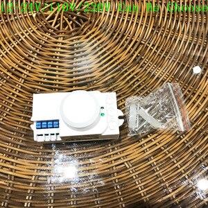 Image 5 - Датчик движения, индукционный, для микроволновки, 12 В/110 В/220 В, 360 градусов, светильник