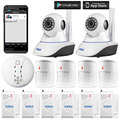 Kerui N62 720P Micro SD Card Record Wifi Wireless IP Camera, App Controlled IOS/ Android Kerui Alarm System Camera
