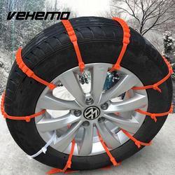 Vehemo 10 stücke Los Auto Universal Mini Kunststoff Winter Reifen räder Schneeketten Für Autos/Suv Auto-Styling Anti-Skid Autocross Outdoor