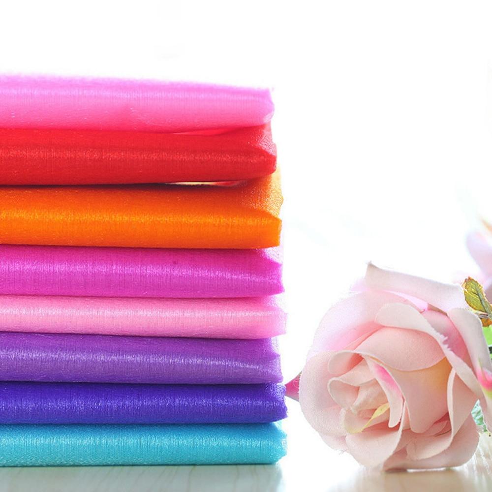 Tulle Fabric Wedding Decorations